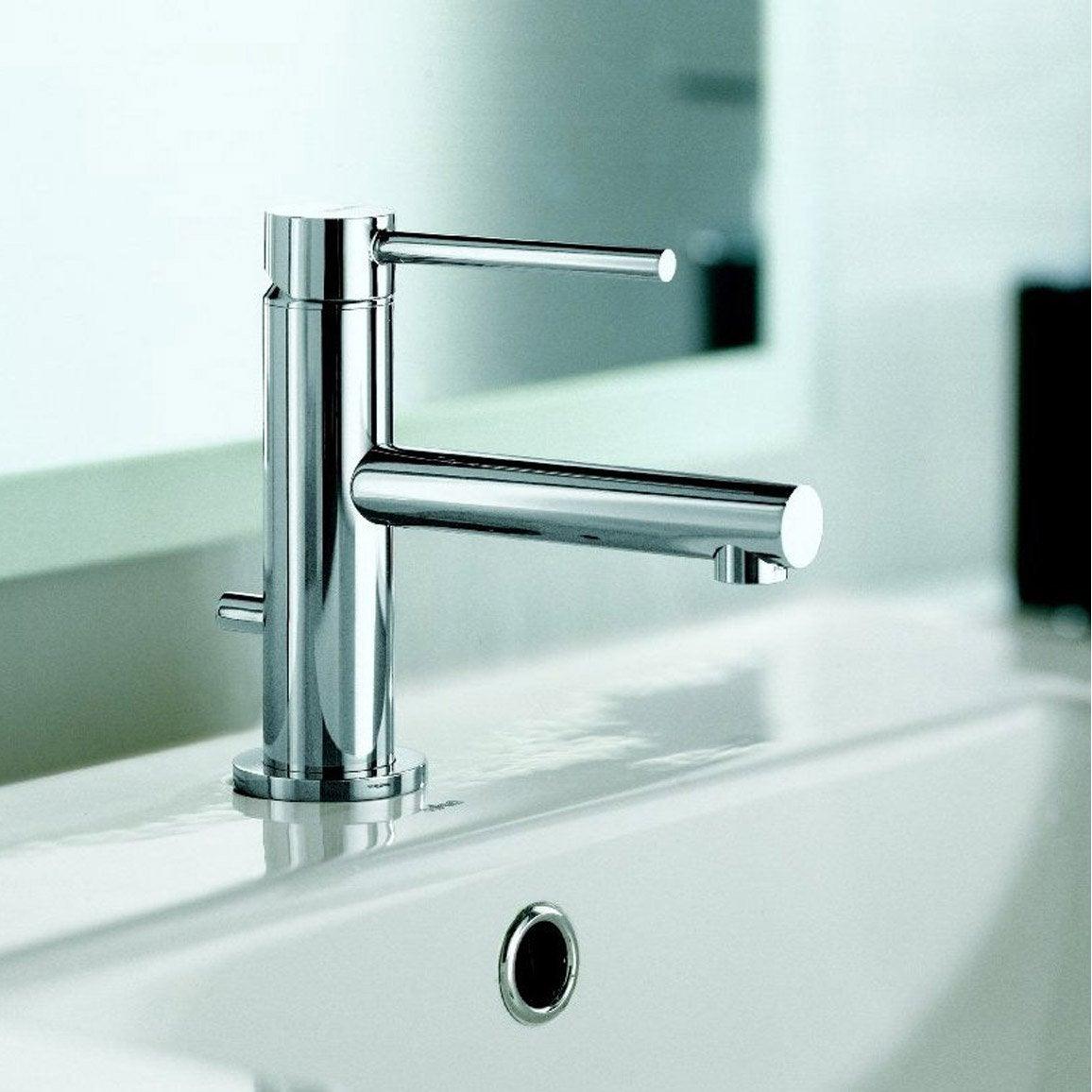 Mitigeur lave mains eau chaude froide chrom x tech leroy merlin - Lave linge eau chaude ...