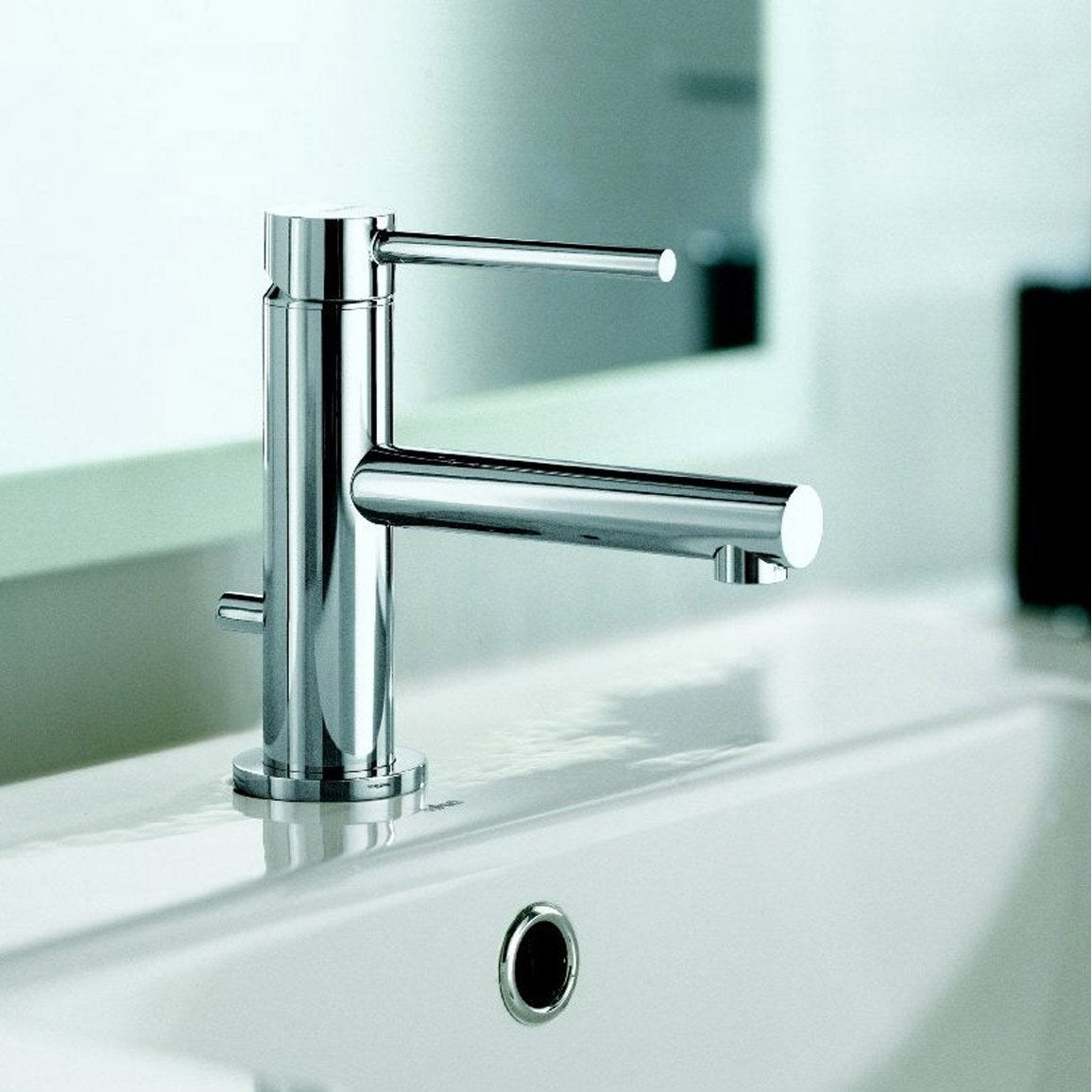 mitigeur lave mains eau chaude froide chrom x tech leroy merlin. Black Bedroom Furniture Sets. Home Design Ideas