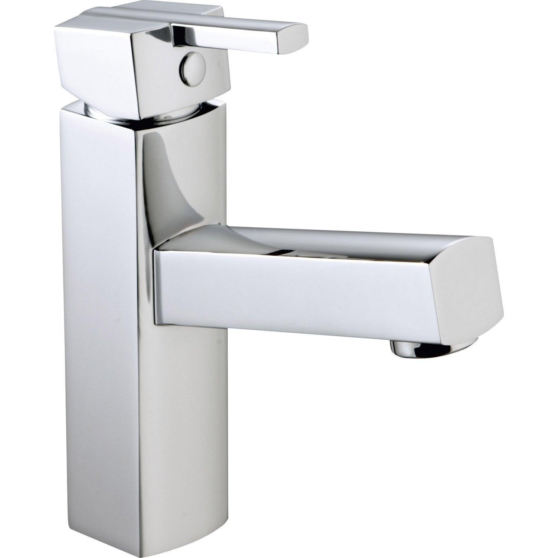 Mitigeur lave mains eau chaude froide chrom sara leroy merlin - Lave linge eau chaude ...