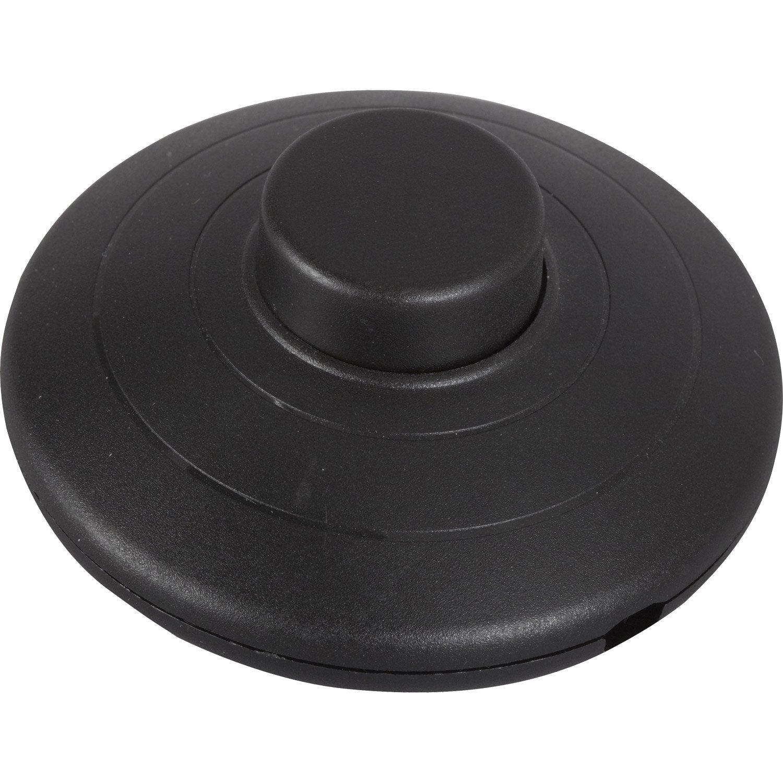 interrupteur 224 pied 224 poussoir zenitech 2 a 460 w maxi leroy merlin