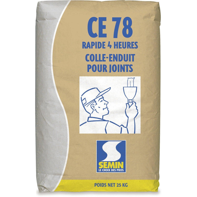 enduit joint plaque pl tre ce78 4h semin poudre 25kg leroy merlin. Black Bedroom Furniture Sets. Home Design Ideas