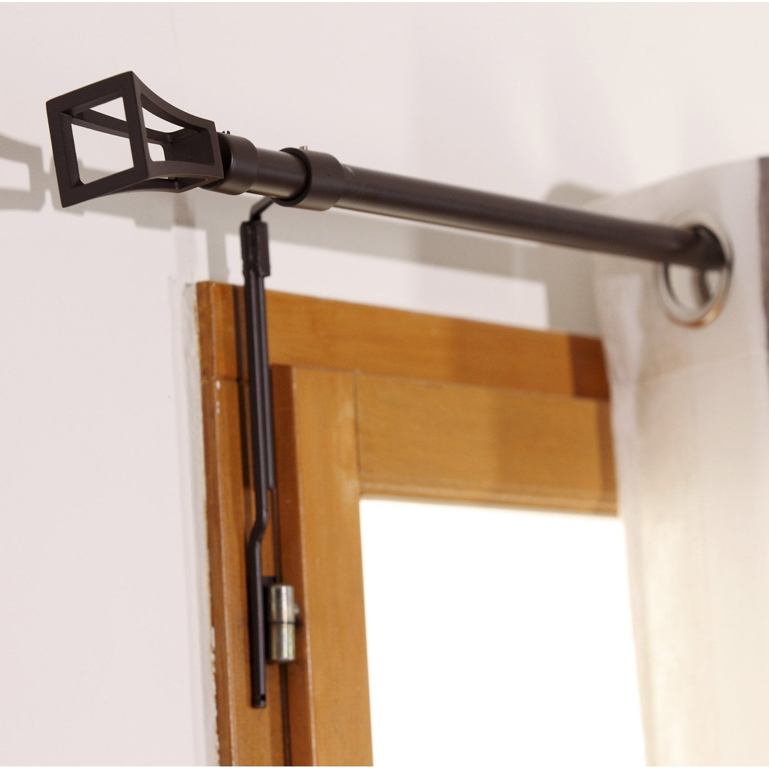 Tringle a rideau sans percer pour porte d entree - Tringle a rideau extensible sans percer ...