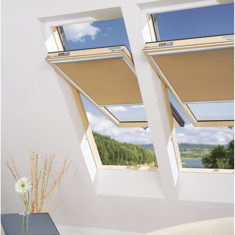remplacement d 39 un vitrage fen tre de toit sup rieur 78x98cm leroy merlin. Black Bedroom Furniture Sets. Home Design Ideas