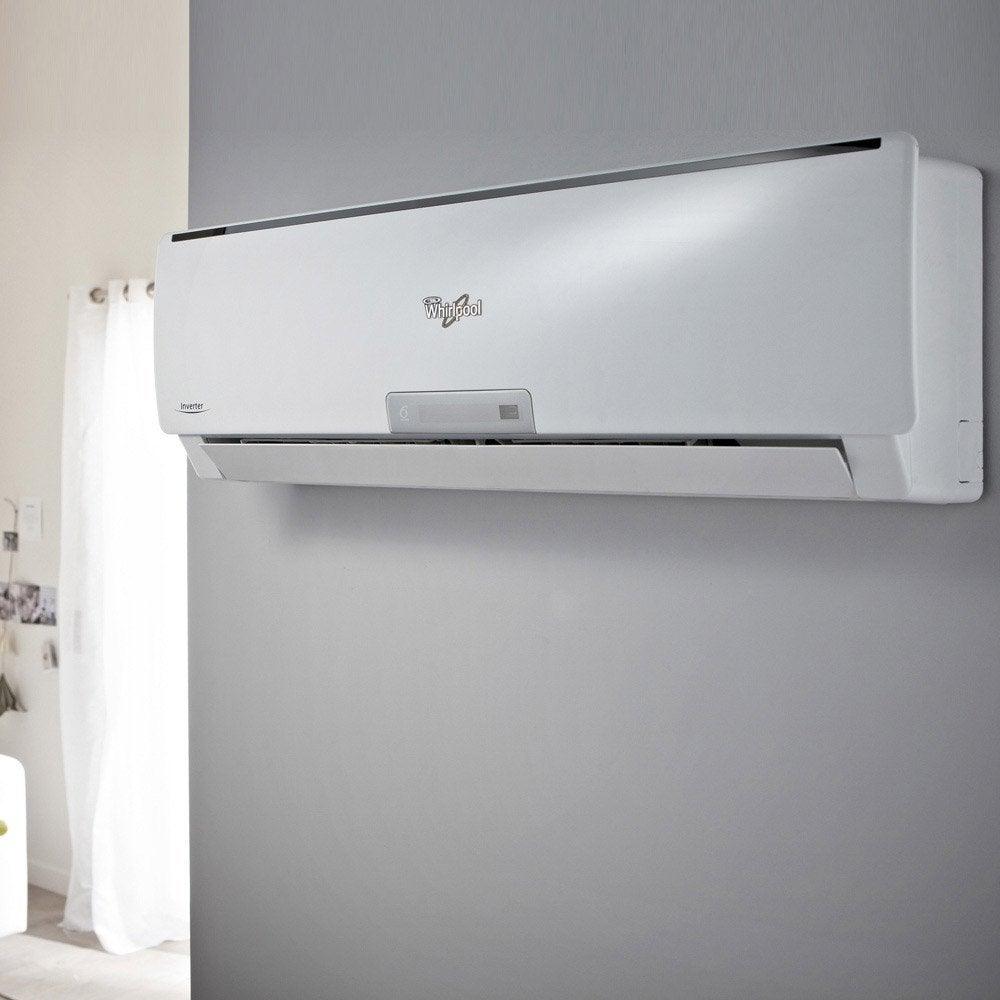 Pose d 39 un climatiseur r versible fixe unit ext pos e au sol par leroy - Climatiseur reversible fixe ...