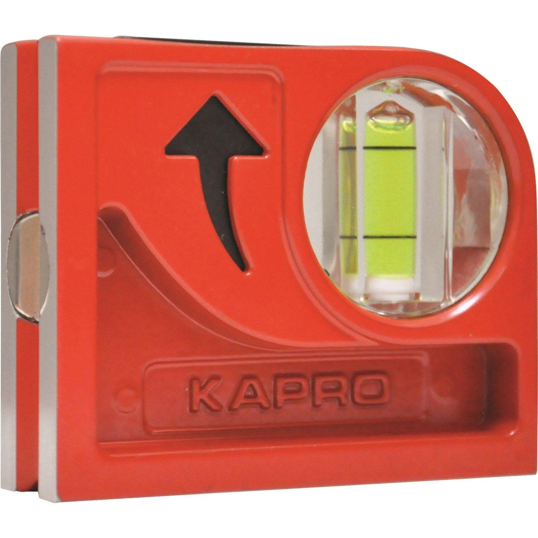 niveau bulle kapro cyclops mag l 8 cm leroy merlin. Black Bedroom Furniture Sets. Home Design Ideas