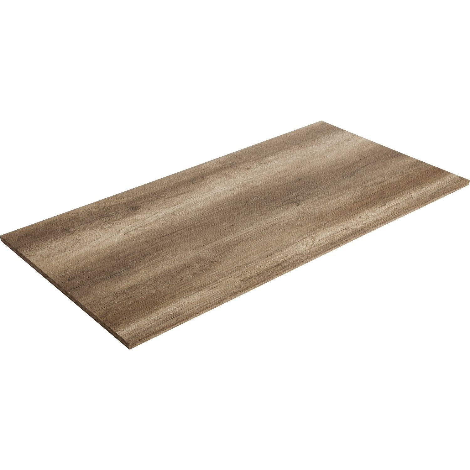 Plateau de table agglom r ch ne authentique spaceo - Plateau pour table a manger ...