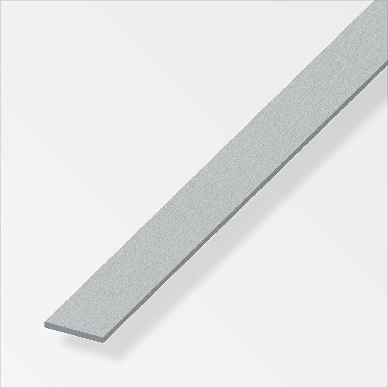 Plat aluminium bross l 2 5 m x l 3 cm leroy merlin - Fer plat alu leroy merlin ...