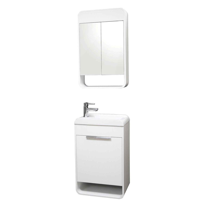 Rangement salle de bain castorama - Petit meuble salle de bain castorama ...