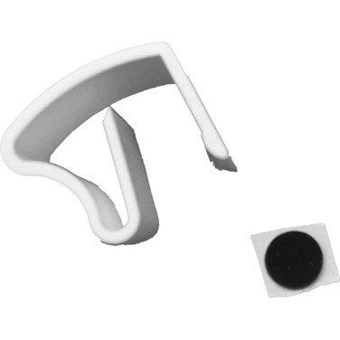jeu de 3 supports plastiques blanc pour store v nitien leroy merlin. Black Bedroom Furniture Sets. Home Design Ideas