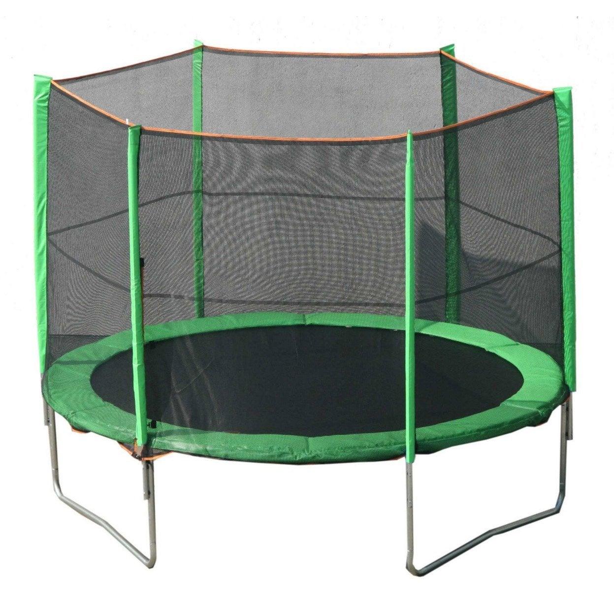trampoline yoopi avis. Black Bedroom Furniture Sets. Home Design Ideas