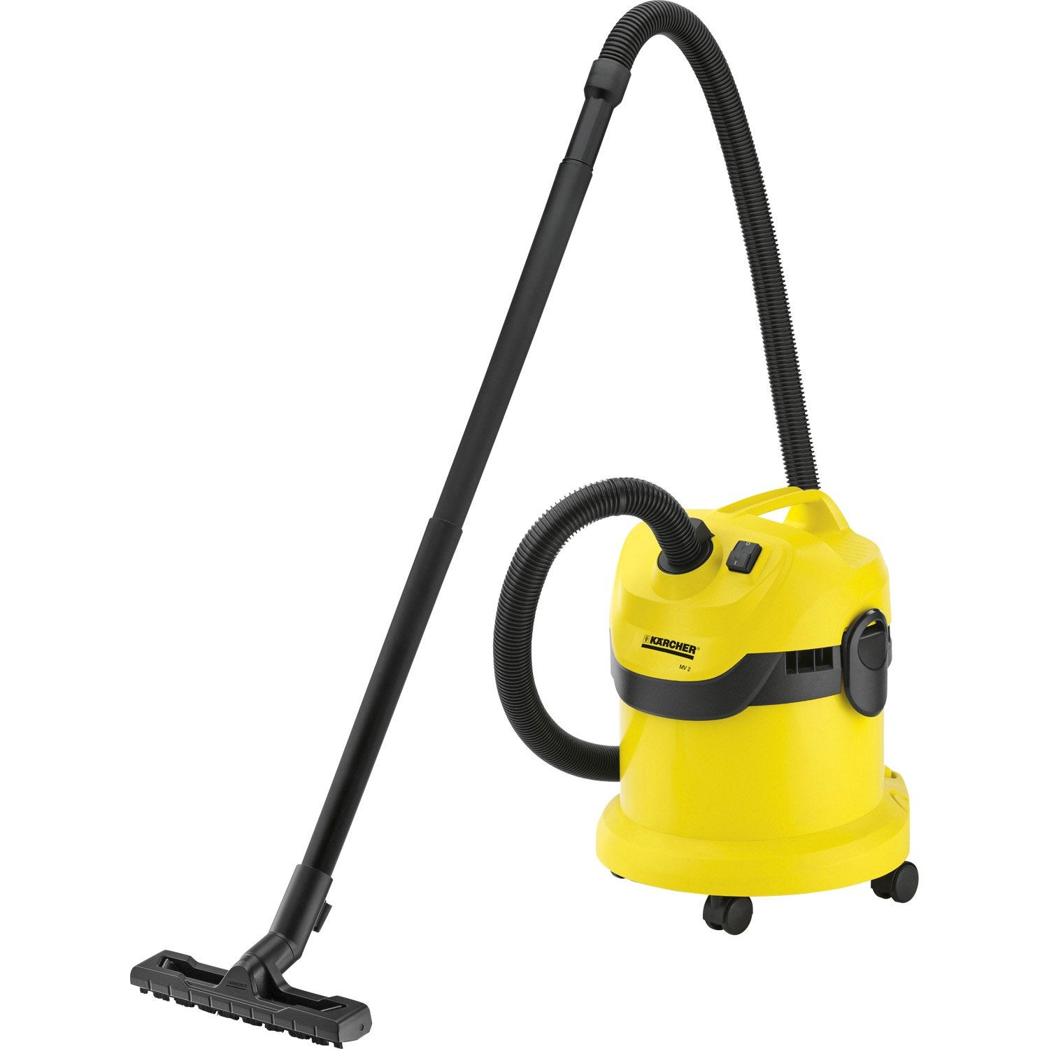 aspirateur eau et poussi res karcher wd2 20 kpa 12 l leroy merlin. Black Bedroom Furniture Sets. Home Design Ideas