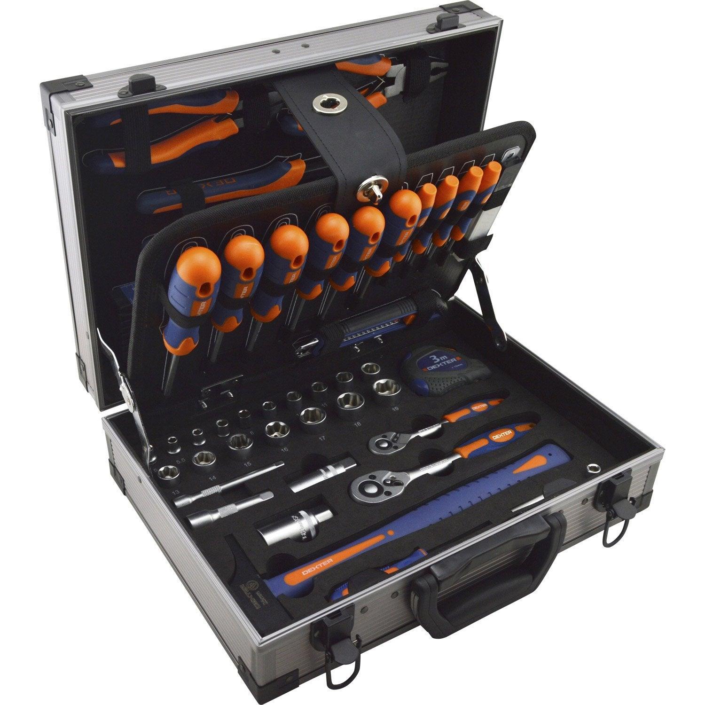 Coffret d 39 outils 110 pi ces dexter leroy merlin - Prix canisse leroy merlin ...