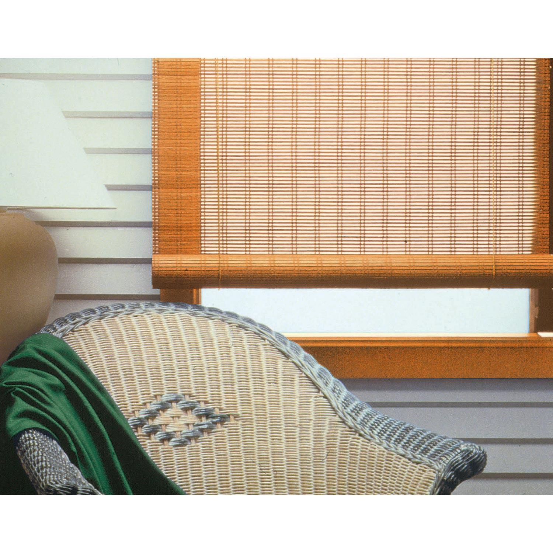 store enrouleur tamisant bois tiss chamois 90x180 cm. Black Bedroom Furniture Sets. Home Design Ideas