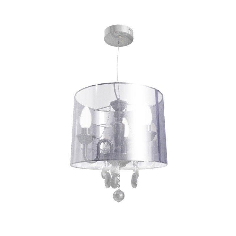Lustre baroque bernadette plastique chrom 3 x 40 w for Lustre pour exterieur