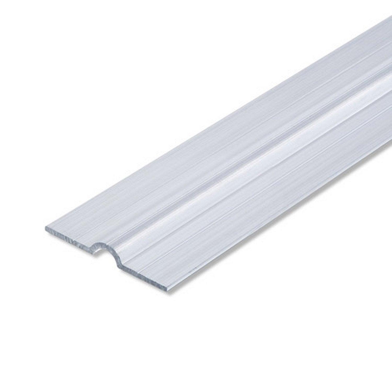 collier tube aluminium brut l 1 m x l cm leroy merlin. Black Bedroom Furniture Sets. Home Design Ideas