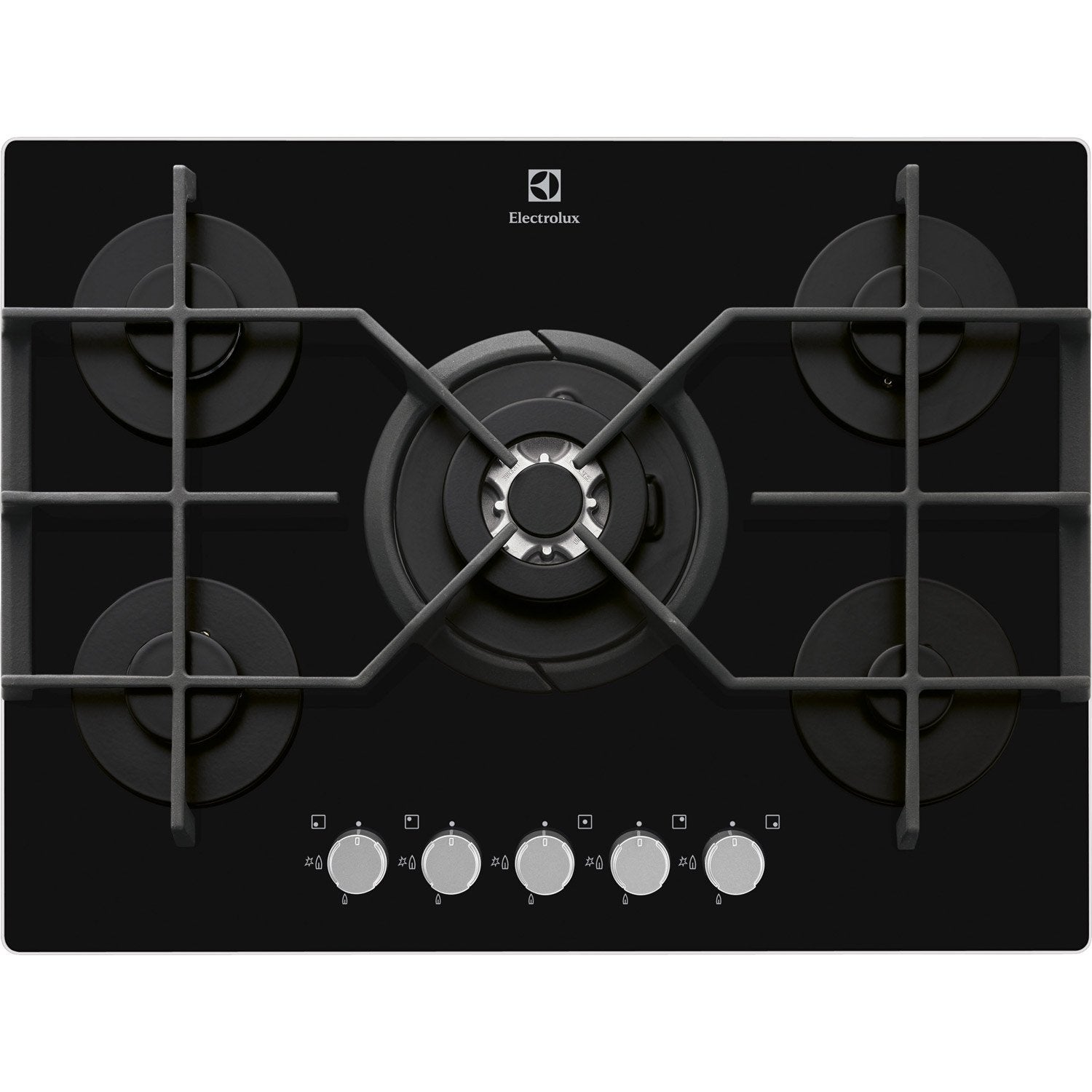 plaque de cuisson gaz electrolux egt7353yok 5 foyers. Black Bedroom Furniture Sets. Home Design Ideas