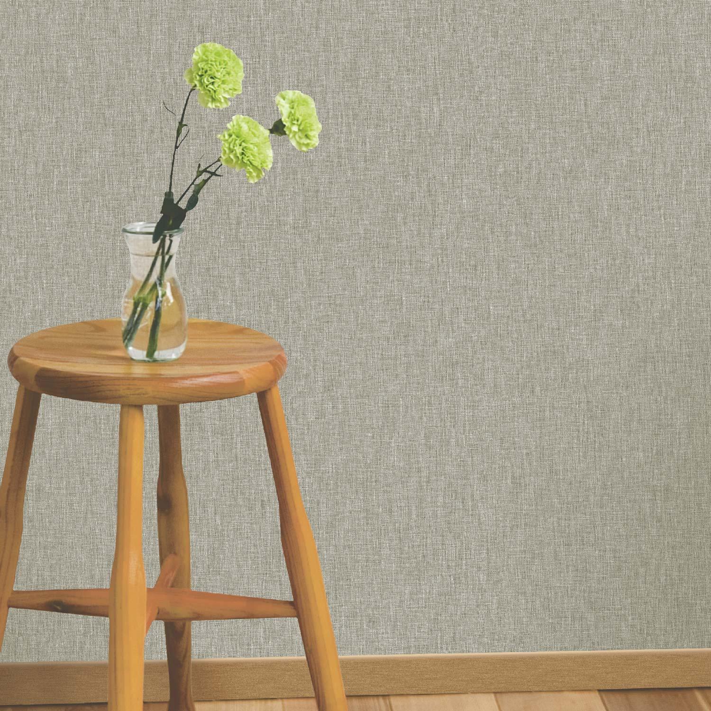 papier peint intiss uni tiss taupe leroy merlin. Black Bedroom Furniture Sets. Home Design Ideas