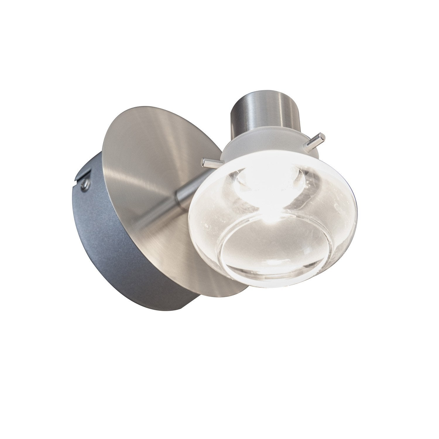 Spot pat re led int gr e 3 3 w chrom canzano eglo - Patere leroy merlin ...