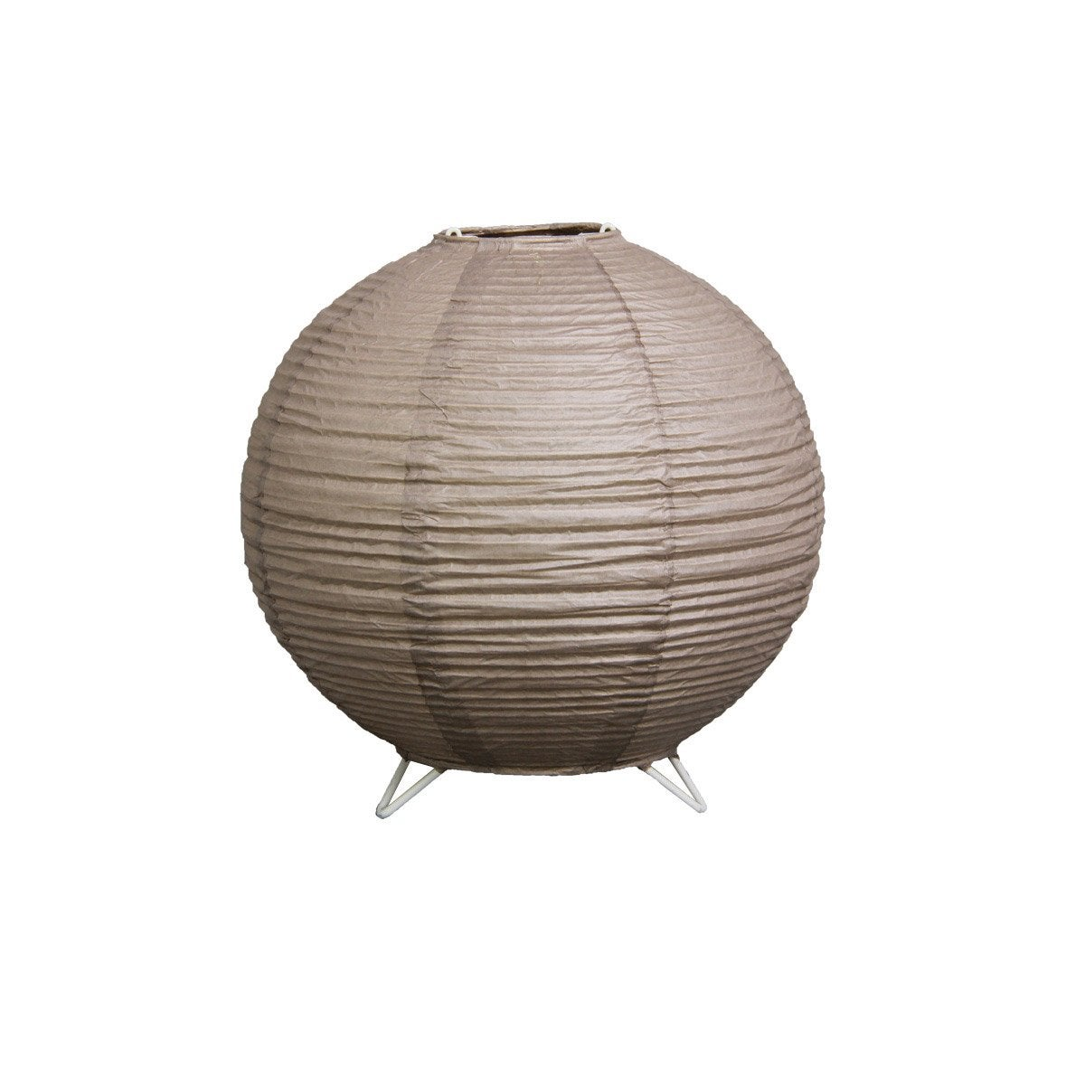 lampe baoji inspire papier gris leroy merlin. Black Bedroom Furniture Sets. Home Design Ideas