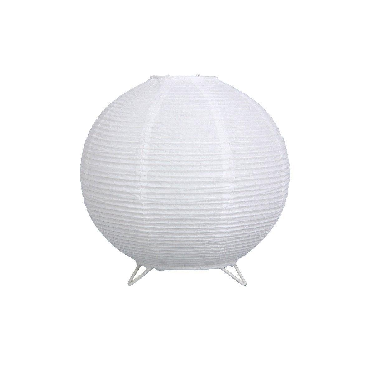 lampe baoji inspire papier blanc leroy merlin. Black Bedroom Furniture Sets. Home Design Ideas