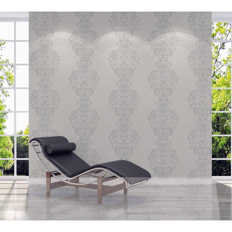 papier peint intiss baltic gris leroy merlin. Black Bedroom Furniture Sets. Home Design Ideas