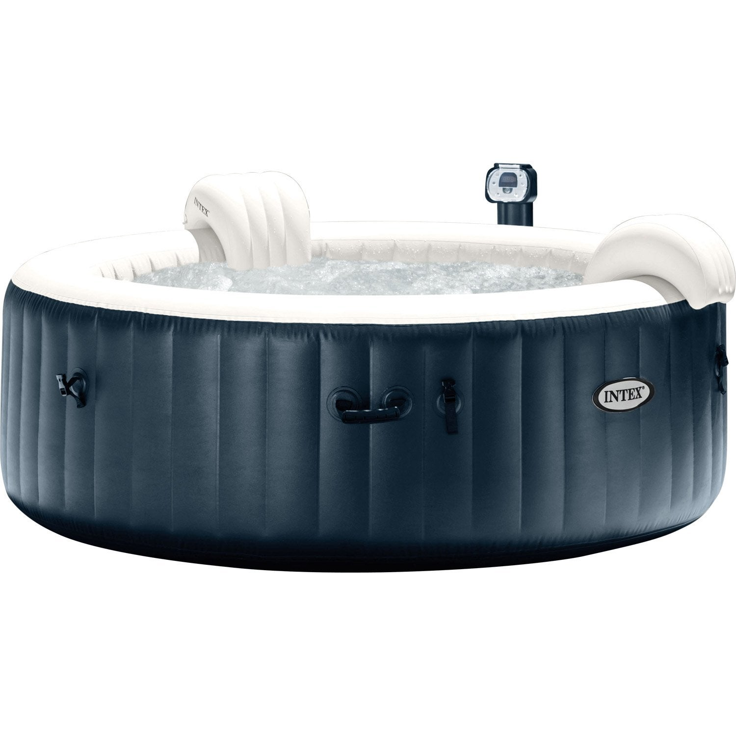 jacuzzi gonflable brico banc gonflable intex upure spa. Black Bedroom Furniture Sets. Home Design Ideas