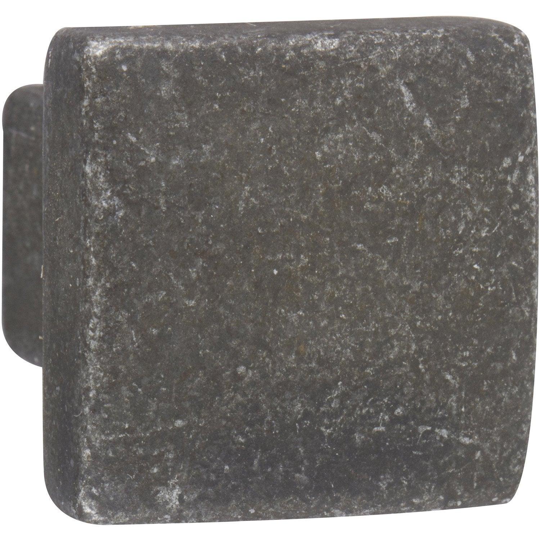 bouton de meuble zamak mat leroy merlin. Black Bedroom Furniture Sets. Home Design Ideas