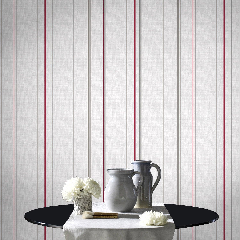 papier peint papier poule beige leroy merlin. Black Bedroom Furniture Sets. Home Design Ideas