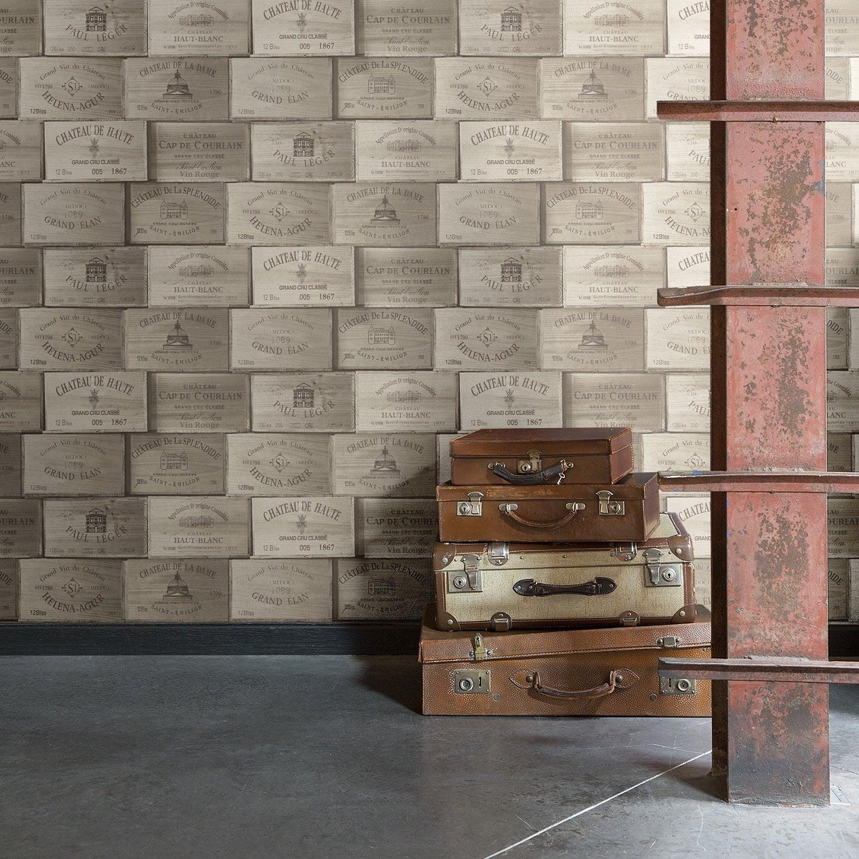 diaporama des papiers peints trompe l 39 oeil. Black Bedroom Furniture Sets. Home Design Ideas