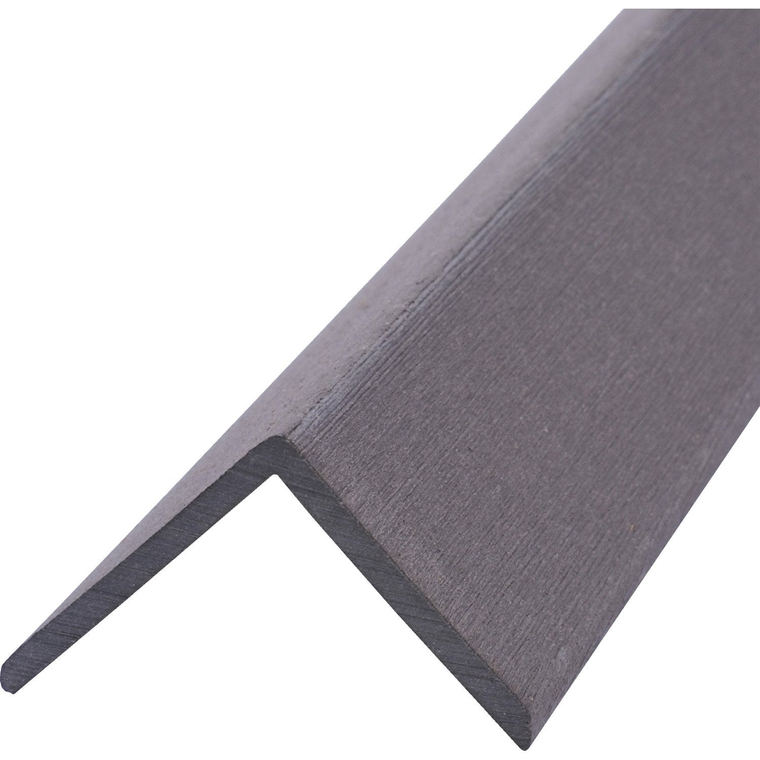 Angle composite 2700 x 50 gris 2 7 m leroy merlin - Pose lame composite leroy merlin ...