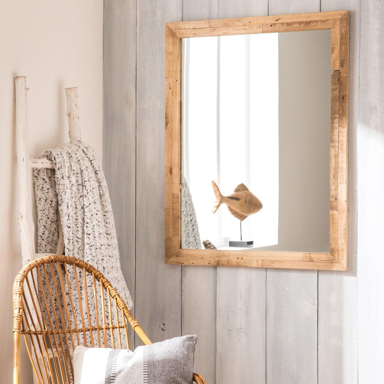 Miroir brut x cm leroy merlin for Miroir 140 x 60
