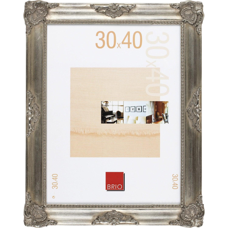 Cadre op ra 24 x 30 cm bronze leroy merlin - Cadre peinture leroy merlin ...