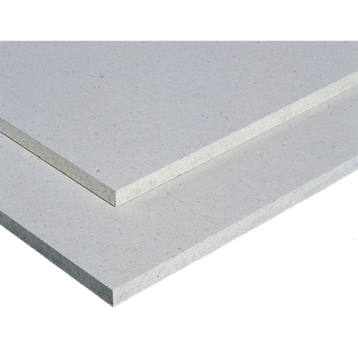 Plaque de sol fermacell m ep 10 10 mm leroy merlin for Sols vinyles leroy merlin