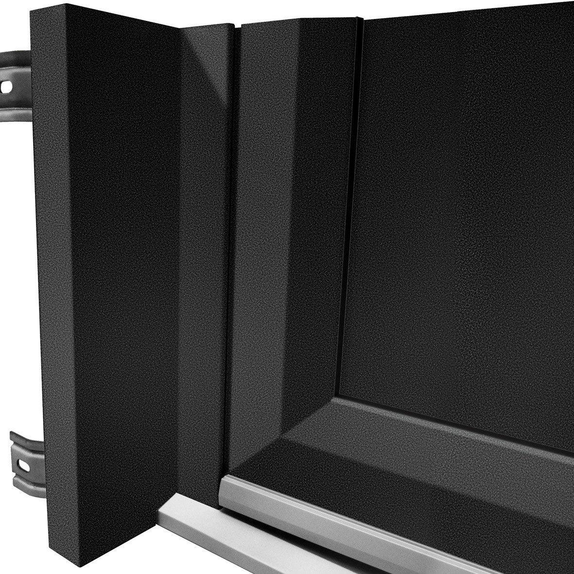 Tap e d 39 isolation pour porte aluminium 215x90 cm artens noir 160 mm le - Isolation phonique porte leroy merlin ...