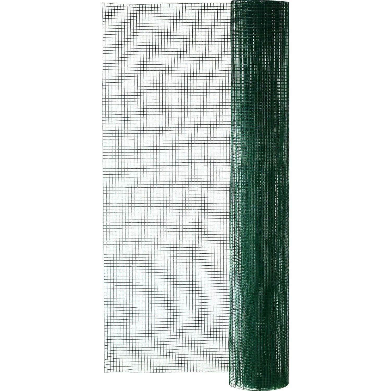 grillage pour animaux soud vert h 1 5 x l 5 m maille x mm leroy merlin. Black Bedroom Furniture Sets. Home Design Ideas
