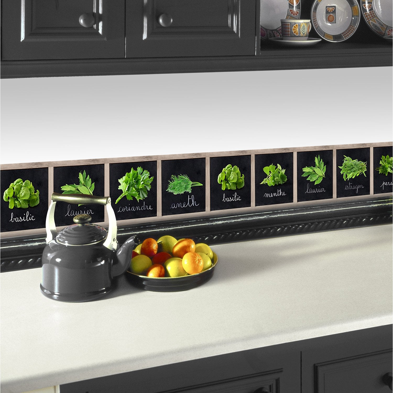 Frise adhesive cuisine trendy affordable frise murale - Frise murale castorama ...