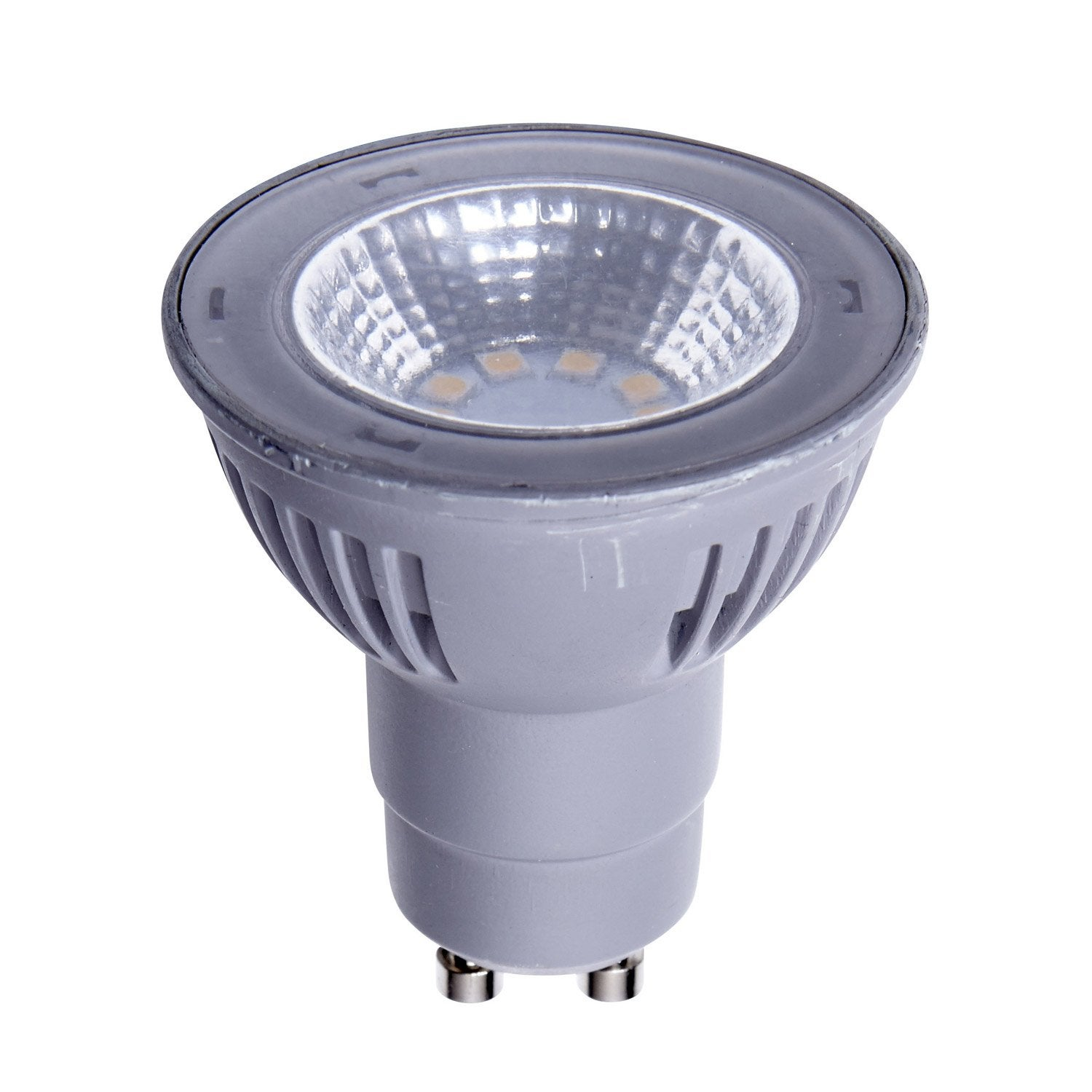 Ampoule r flecteur led 5 5w 450lm quiv 50w gu10 4000k for Tiras led leroy merlin