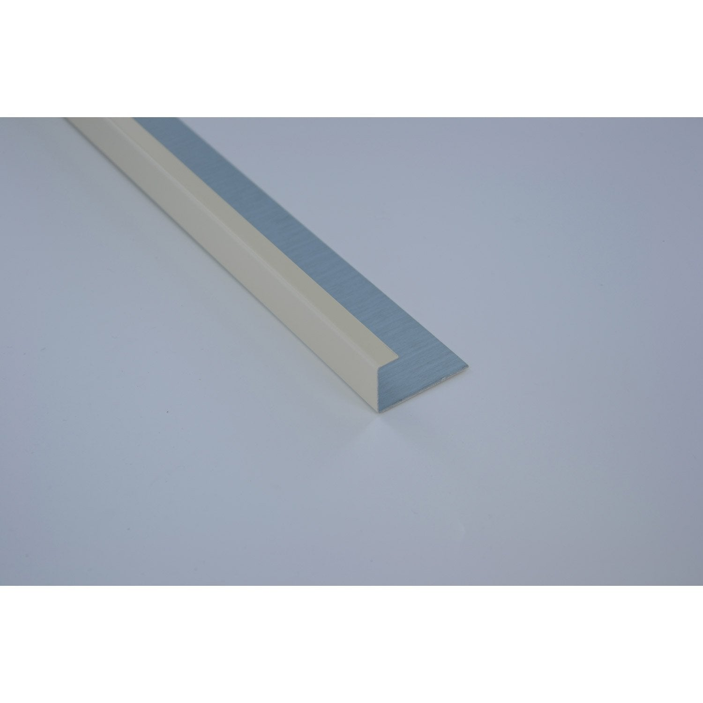 profil de finition aluminium 24 x 45 scover plus beige l 2. Black Bedroom Furniture Sets. Home Design Ideas