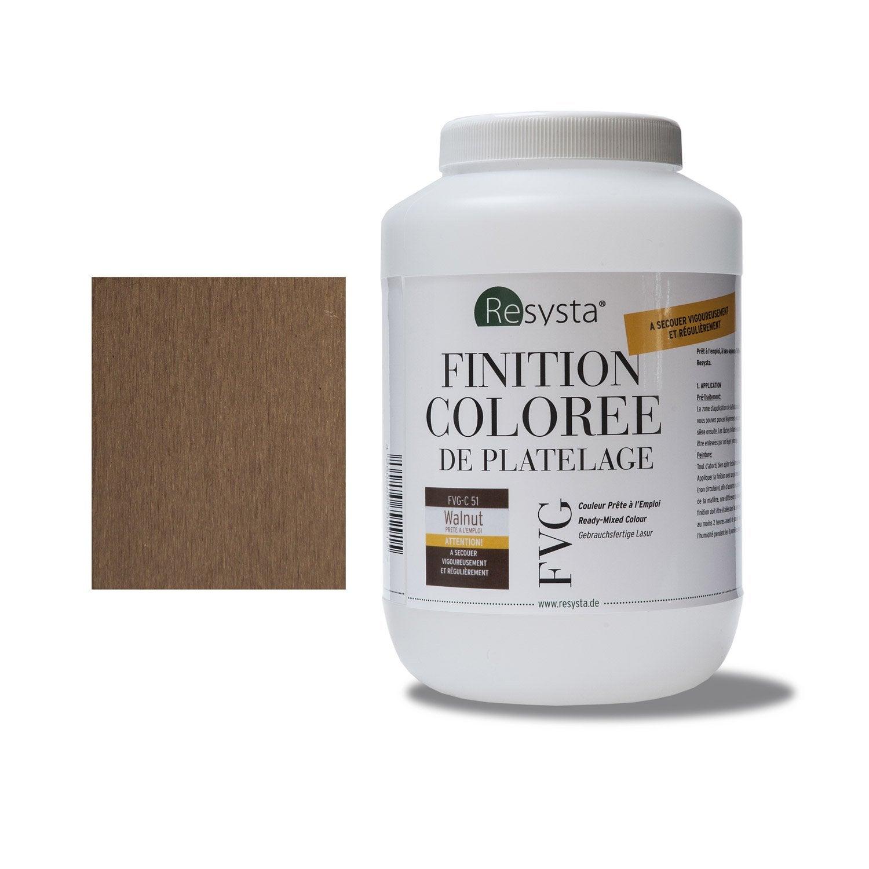 Peinture pour clin composite 13 x 19 resysta marron fonc for Produit pour enlever peinture