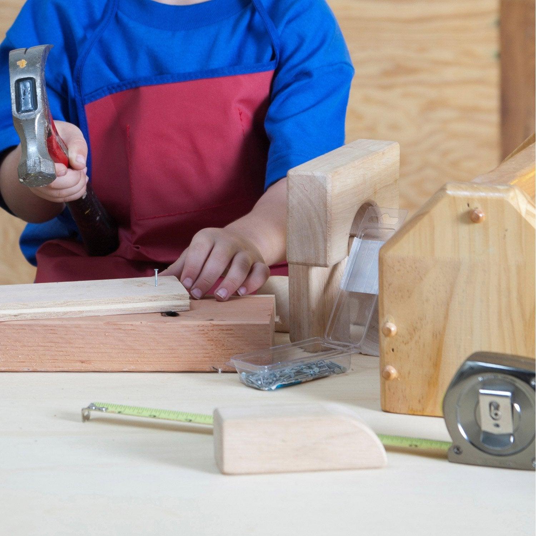 Atelier enfant comment r aliser une caisse outils en - Caisse en bois leroy merlin ...