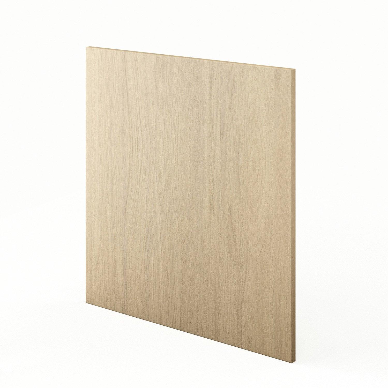 Joue meuble haut bas de cuisine d cor ch ne clair l65 cyclone l63 x h70 cm leroy merlin - Quelle couleur avec meuble chene clair ...