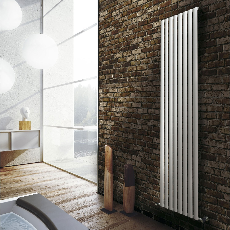 radiateur chauffage central ellis blanc mat cm 926 w leroy merlin. Black Bedroom Furniture Sets. Home Design Ideas