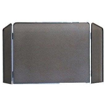 pare feu 3 volets delta rustique fer forg 55 x 70 cm leroy merlin. Black Bedroom Furniture Sets. Home Design Ideas