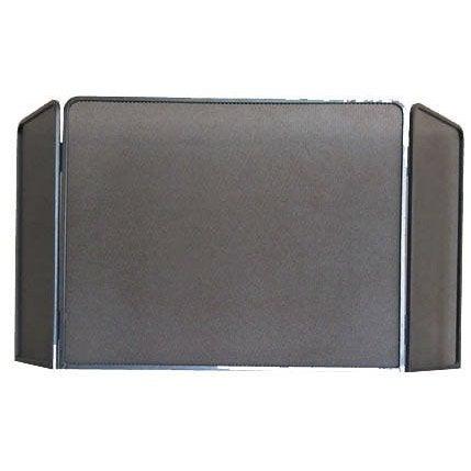 pare feu fer forg delta rustique 3 volets x. Black Bedroom Furniture Sets. Home Design Ideas