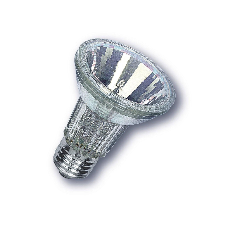 Ampoule r flecteur halog ne 50w 350lm quiv 50w e27 - Ampoule lumiere noire leroy merlin ...
