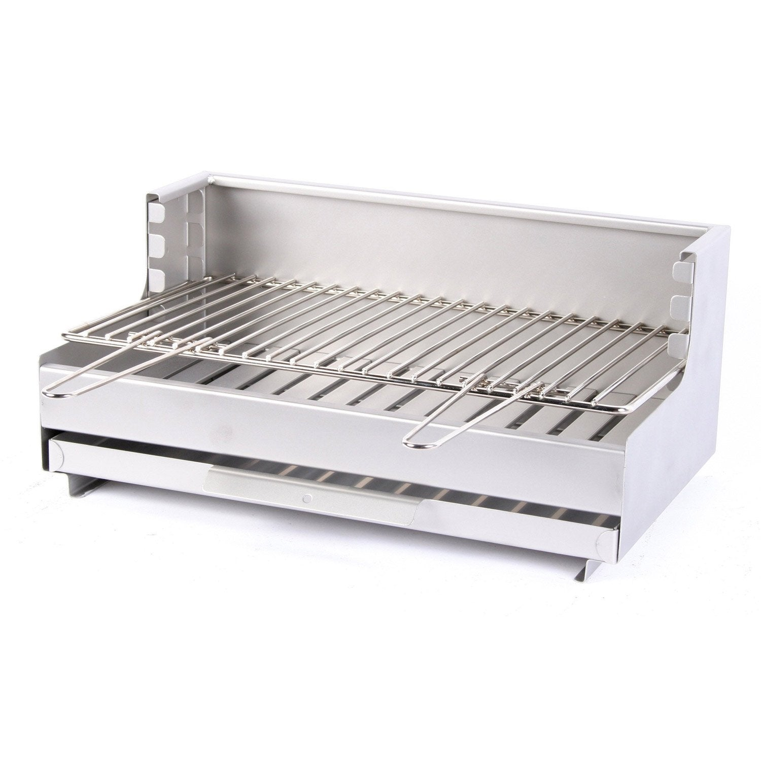 Grilloir en inox gbi416 x x cm leroy merlin for Barbecue exterieur leroy merlin