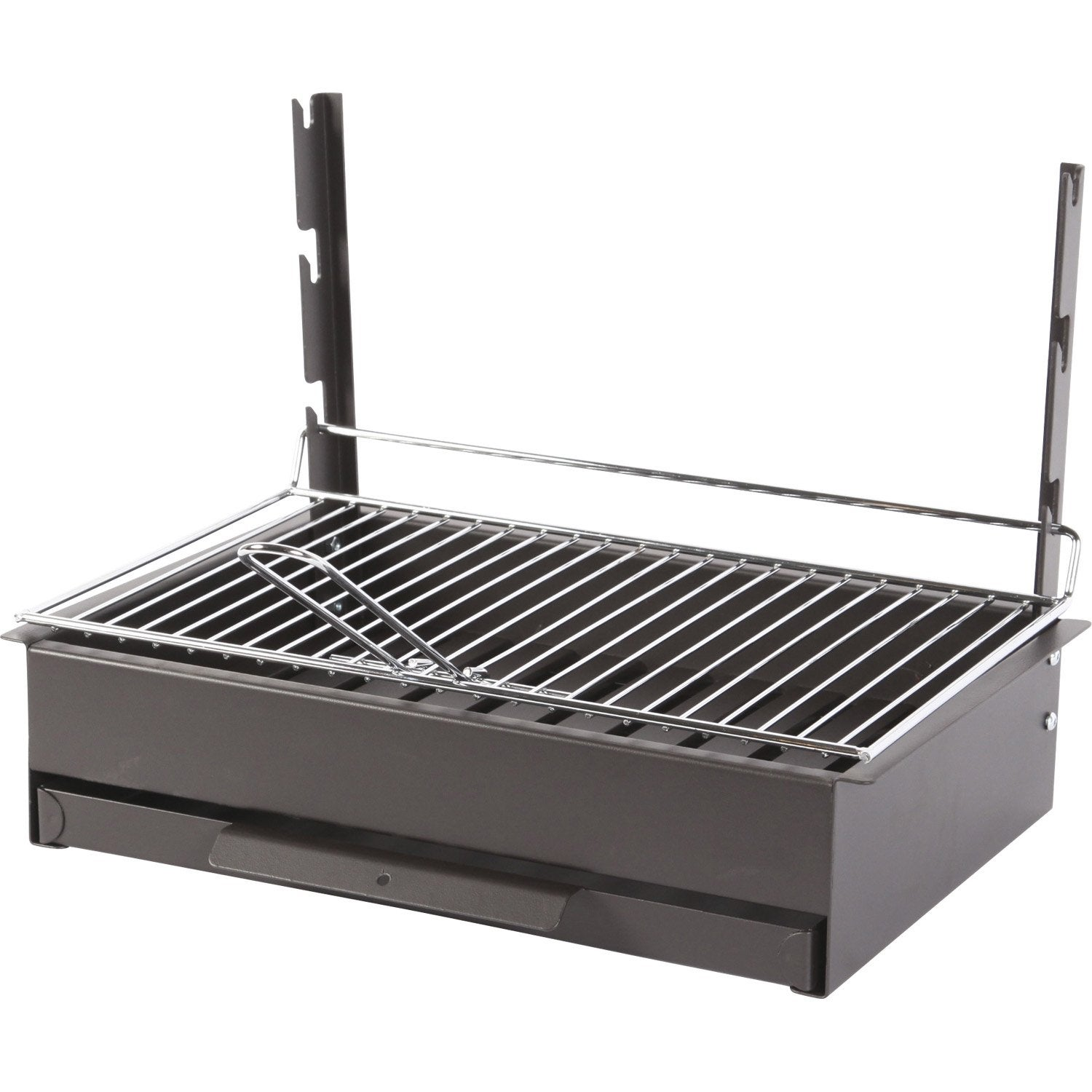 Grilloir en acier vulcain 3653 x x cm for Barbecue exterieur leroy merlin