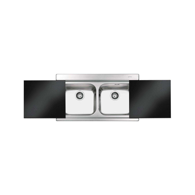 evier encastrer inox opus 2 bacs leroy merlin. Black Bedroom Furniture Sets. Home Design Ideas
