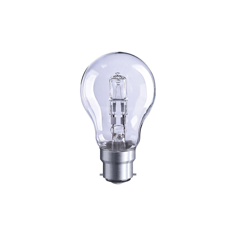 Ampoule Standard Halog Ne Co 46w Lexman B22 Lumi Re Chaude Env 2700k Leroy Merlin