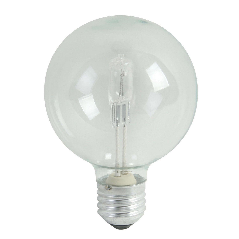 Ampoule globe halog ne co 46w lexman e 27 lumi re for Changer ampoule piscine